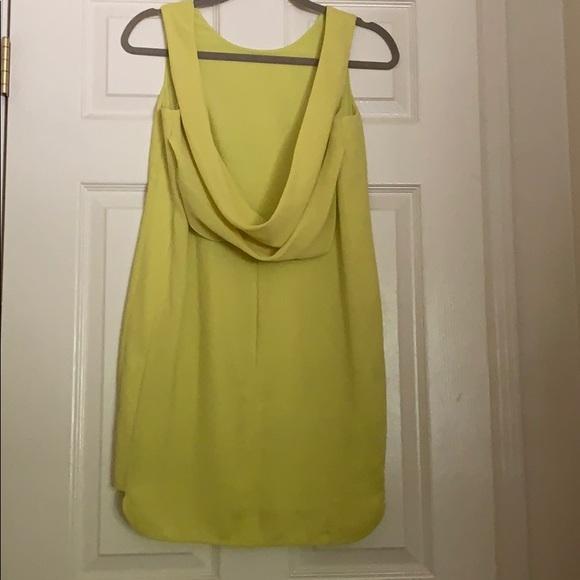BCBGMaxAzria Dresses & Skirts - BCBGMAXAZRIA Light Lemongrass Ellie Cocktail Dress